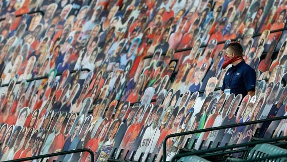 49ers latest team to have fan cutouts in stands